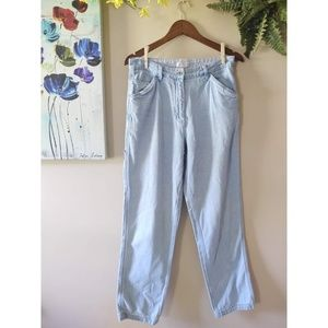 Vintage 90s Christopher & Banks Cargo Mom Jeans